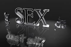 Ilustração do sexo Fotos de Stock Royalty Free