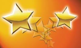 Ilustração do Shooting Stars Fotografia de Stock