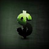 Ilustração do sinal de dólar Fotografia de Stock Royalty Free