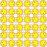 Ilustração do sol de sorriso Fotografia de Stock Royalty Free