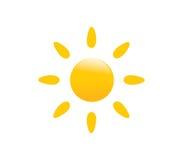 Ilustração do sol do vetor Ilustração Royalty Free