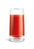 Ilustração do suco de tomate Fotografia de Stock