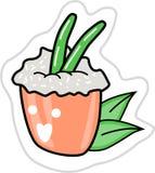 Ilustração do sushi do vetor fotografia de stock royalty free