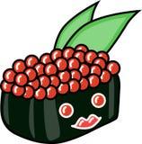 Ilustração do sushi do vetor fotos de stock