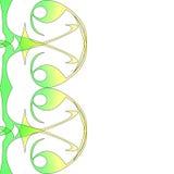 Ilustração do swish do redemoinho ilustração stock
