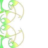 Ilustração do swish do redemoinho ilustração royalty free