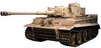 Ilustração do tanque 3D do tigre Imagens de Stock Royalty Free
