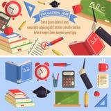 Ilustração do tempo da educação Imagens de Stock