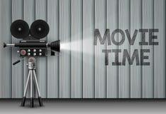Ilustração do tempo de filme ilustração do vetor