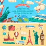 Ilustração do tempo de viagem Imagem de Stock Royalty Free