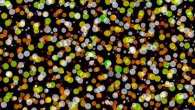 Ilustração do teste padrão de pontos com fundo abstrato Fotos de Stock Royalty Free