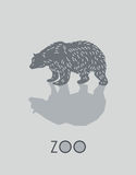 Ilustração do urso Fotos de Stock
