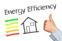Ilustração do uso eficaz da energia imagem de stock royalty free