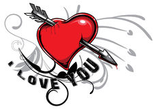Ilustração do Valentim Imagem de Stock