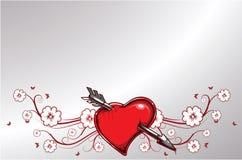 Ilustração do Valentim Fotos de Stock