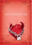 Ilustração do Valentim Foto de Stock Royalty Free