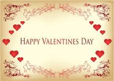 Ilustração do Valentim Fotografia de Stock