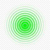 Ilustração do vetor do ícone do círculo da dor Fotos de Stock Royalty Free