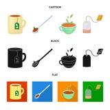 Ilustração do vetor do ícone saudável e floral Ajuste do ícone saudável e do inclinação do vetor para o estoque ilustração royalty free