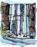 Ilustração do vetor. Fotografia de Stock Royalty Free