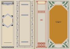 Ilustração do vetor Brochura do molde no estilo do vintage Fotos de Stock Royalty Free