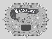 Ilustração do vetor com rotulação desenhado à mão Imagem de Stock Royalty Free
