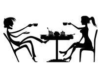 Ilustração do vetor conversação Imagem de Stock