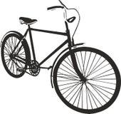 Ilustração do vetor da bicicleta Fotografia de Stock Royalty Free