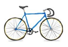 Ilustração do vetor da bicicleta da estrada Foto de Stock