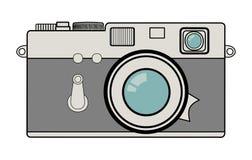 Ilustração do vetor da câmera do vintage Imagem de Stock