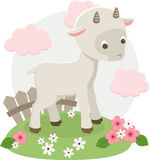 Ilustração do vetor da cabra Imagem de Stock Royalty Free