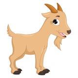 Ilustração do vetor da cabra dos desenhos animados Foto de Stock