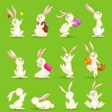 Coelhinhos da Páscoa ilustração royalty free