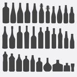Ilustração do vetor da garrafa. Foto de Stock