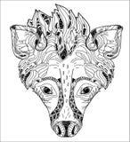 Ilustração do vetor da hiena Ilustração Royalty Free