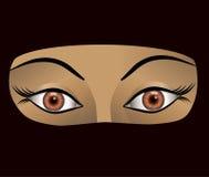 Ilustração do vetor da mulher árabe Imagens de Stock Royalty Free