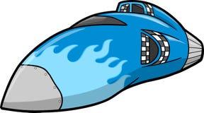 Ilustração do vetor da nave espacial ilustração stock