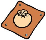 Ilustração do vetor da placa do dim sum Imagens de Stock Royalty Free