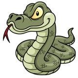 Serpente dos desenhos animados Fotos de Stock