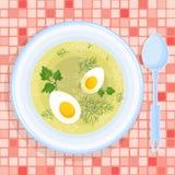 Ilustração do vetor da sopa Imagens de Stock