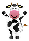 Ilustração do vetor da vaca Foto de Stock Royalty Free