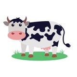 Ilustração do vetor da vaca Foto de Stock