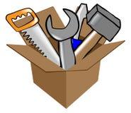 Ilustração do vetor das ferramentas Fotografia de Stock Royalty Free