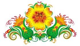 Ilustração do vetor das flores. Fotos de Stock Royalty Free