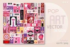 Ilustração do vetor de Art Design do PNF Imagens de Stock