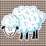 Ilustração do vetor de carneiros bonitos Fotos de Stock Royalty Free