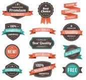 Ilustração do vetor de elementos relativos à promoção do projeto Foto de Stock Royalty Free