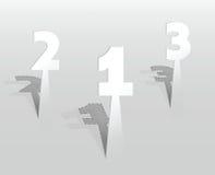 Ilustração de etiquetas do suporte Fotos de Stock