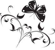 Ilustração do vetor de floral Fotos de Stock