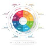 Ilustração do vetor de Infographics Fotos de Stock Royalty Free